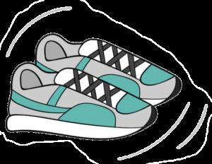 gym sneaker icon